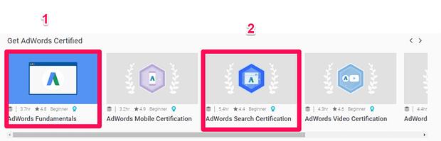 Όλα όσα χρειάζεται να ξέρεις για την απόκτηση της πιστοποίηση Google AdWords 64
