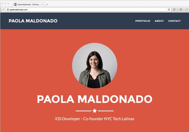 Πώς να φτιάξεις ένα εντυπωσιακό site/portfolio 3