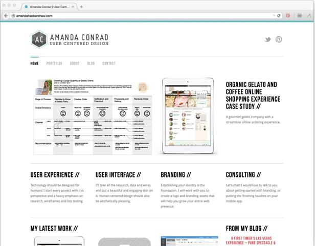 Πώς να φτιάξεις ένα εντυπωσιακό site/portfolio 2