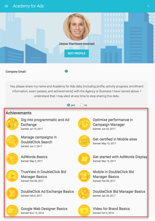 Όλα όσα χρειάζεται να ξέρεις για την απόκτηση της πιστοποίηση Google AdWords 53