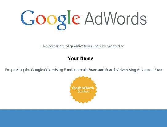 Όλα όσα χρειάζεται να ξέρεις για την απόκτηση της πιστοποίηση Google AdWords 66