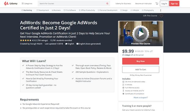 Όλα όσα χρειάζεται να ξέρεις για την απόκτηση της πιστοποίηση Google AdWords 17